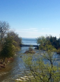 Views of Lake Huron, from north of Collingwood, Ontario. — in Thornbury, Ontario.