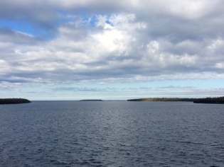 Lake Huron from the Ferry that runs between Tobermory and Manitoulin Island.