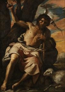 Saint John the Baptist Preaching-Mattia Preti