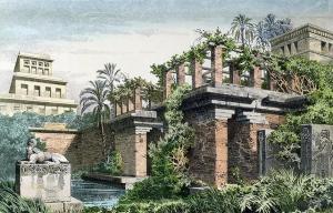 Hanging_Gardens_of_Babylon_by_Ferdinand_Knab_(1886)
