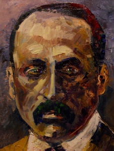 Rilke-Arturo Espinosa, oil on canvas