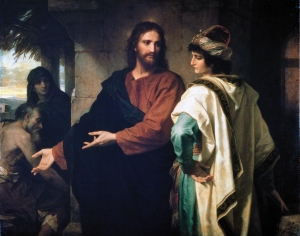 Hofmann-Christ and the rich young ruler