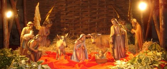 Nativity scene header