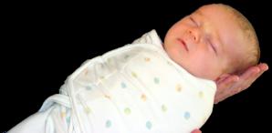 3_week_old_swaddled_infant
