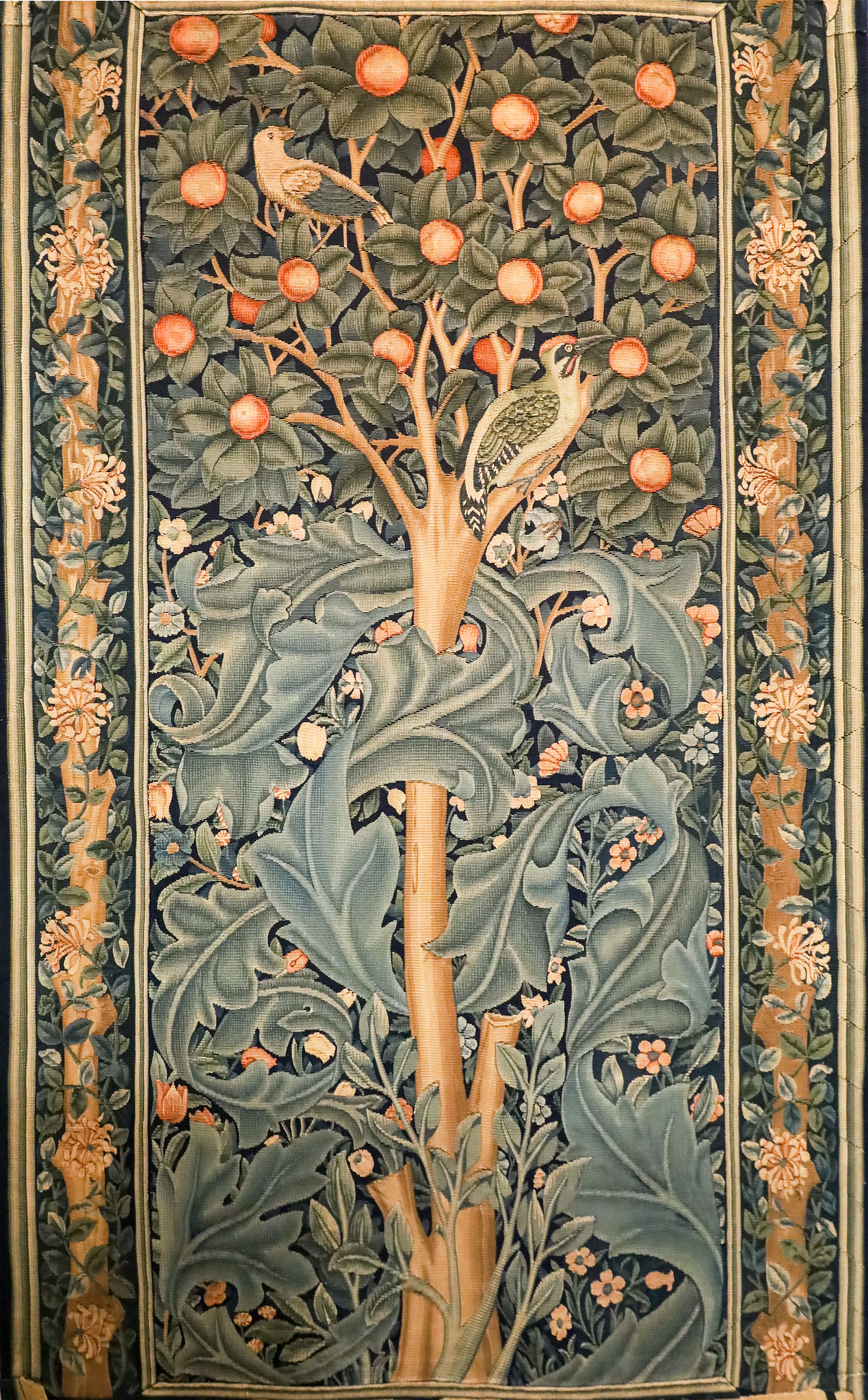 Tree of Life-tapestry by William Morris